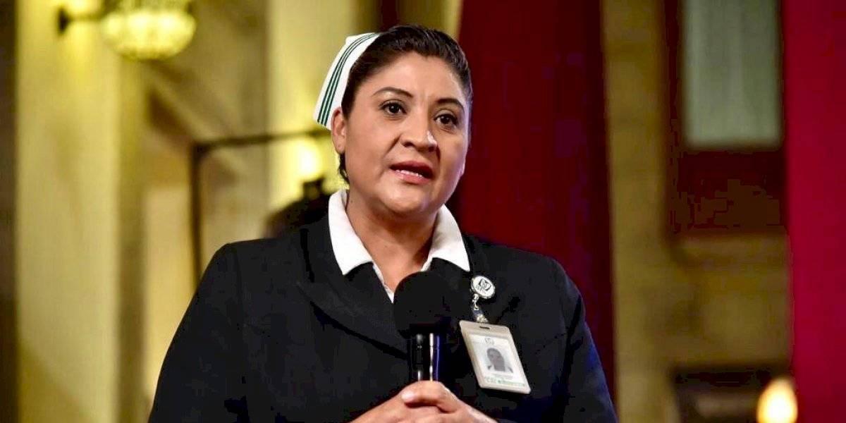 Jefa Fabiana ingresa al Hospital Nacional de La Raza