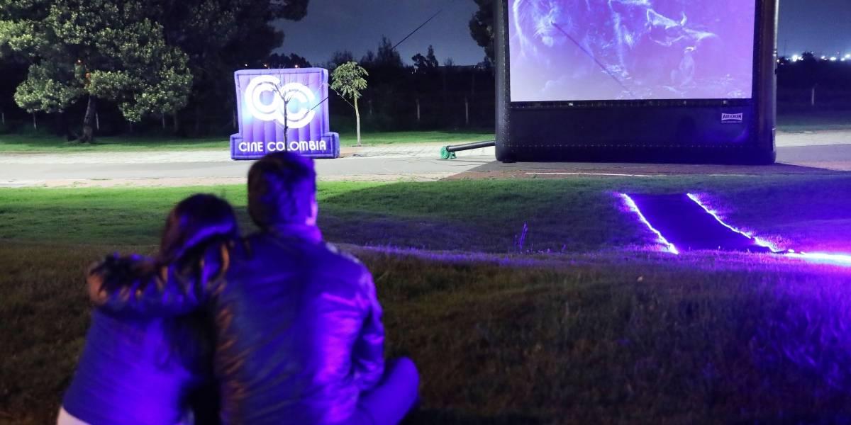 Pantalla gigante recorre Bogotá con las mejores películas