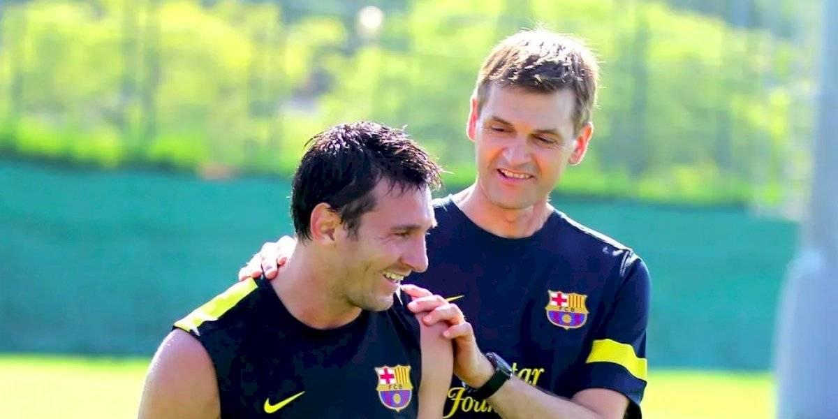 Tito Vilanova cumple 6 años de haber muerto y Messi lo recuerda con emotiva imagen