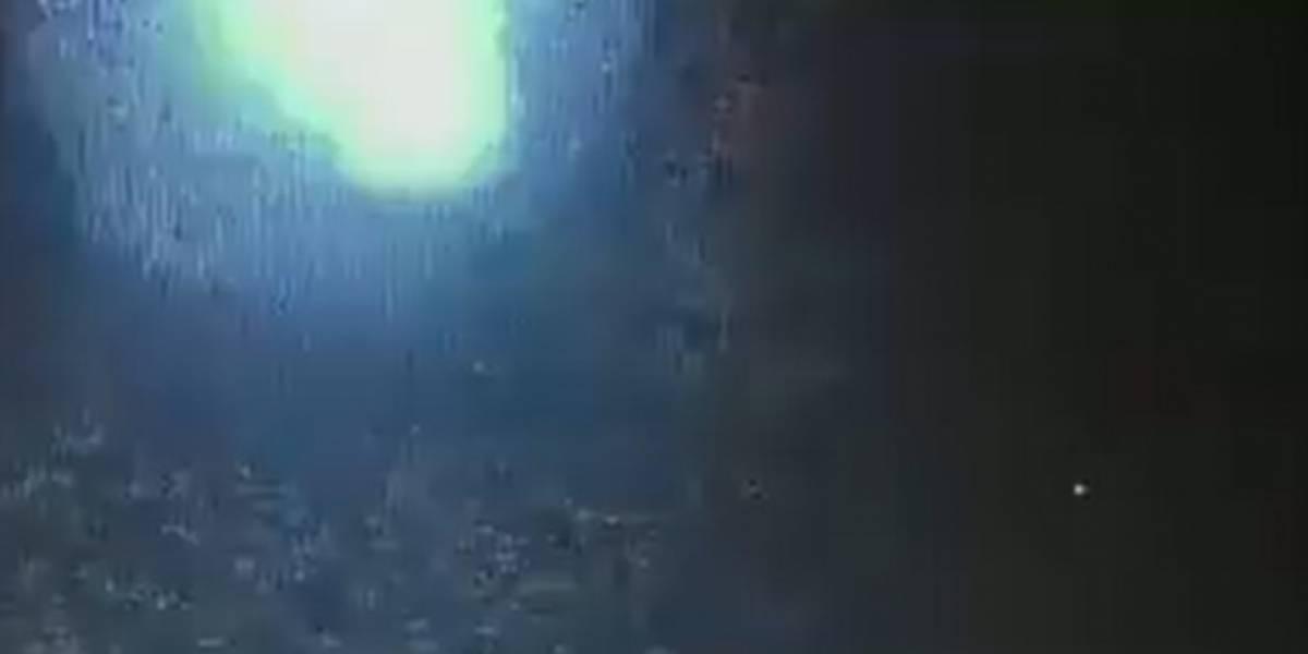 (Video) Registran la caída y explosión de gigantesco meteorito sobre ciudad de Brasil