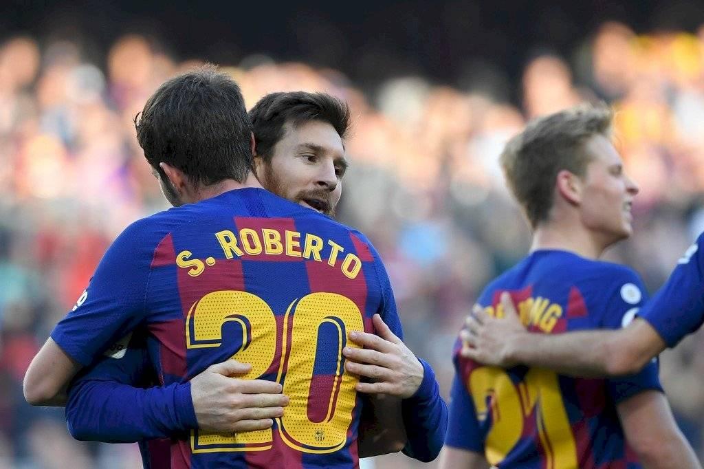 Sergi Roberto a la venta en el Barcelona