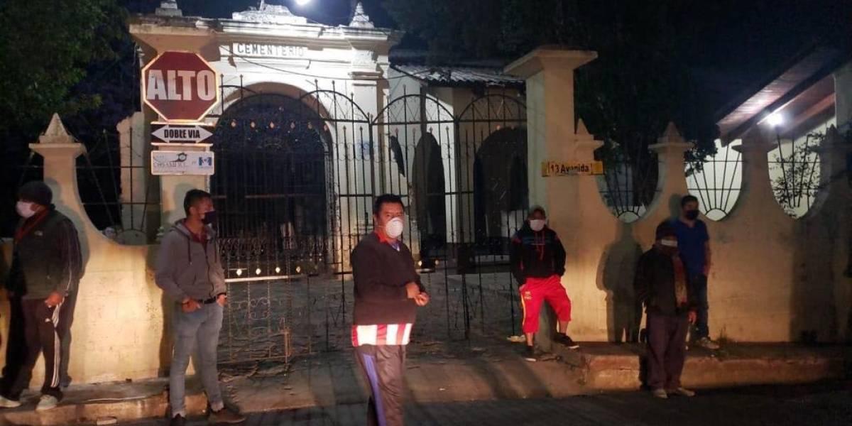 Vecinos de Totonicapán piden habilitar área para enterrar a fallecidos por COVID-19