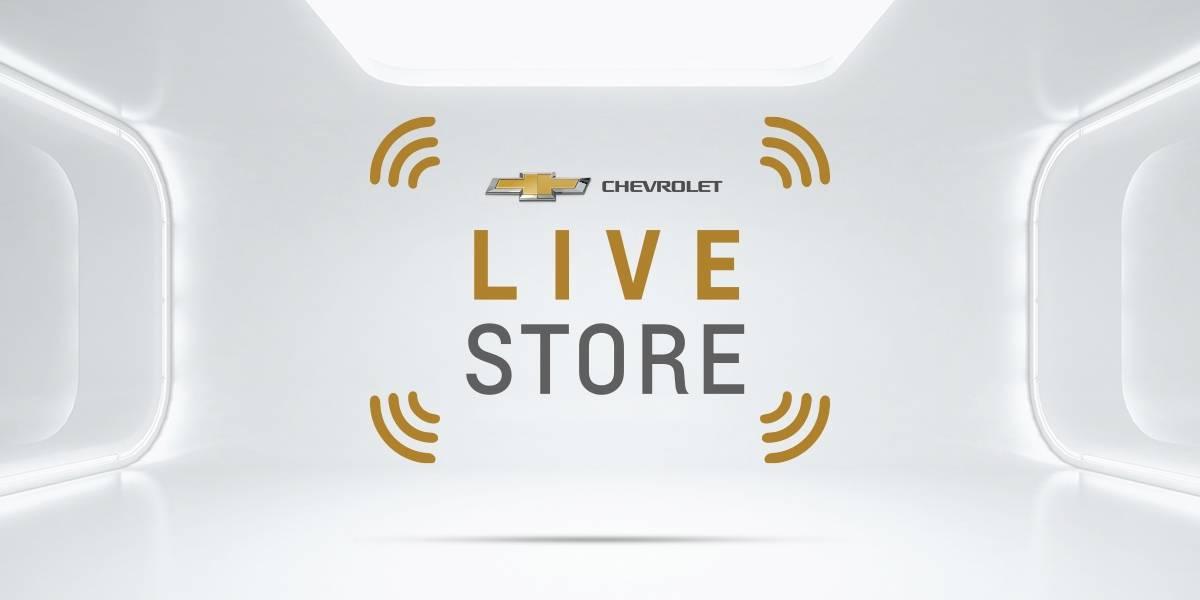 Chevrolet Live Store, una nueva forma de comprar