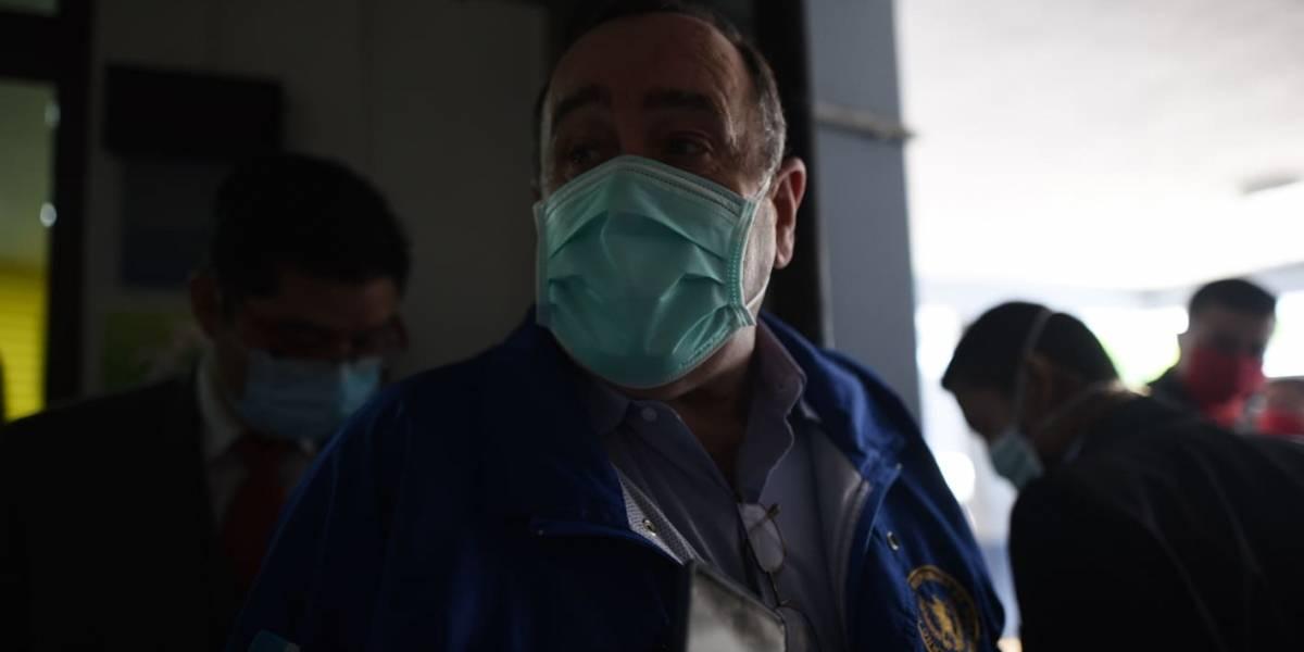 """Giammattei sobre paciente con Covid-19 que salió de hospital: """"es coyote y dudo que esté en Guatemala"""""""
