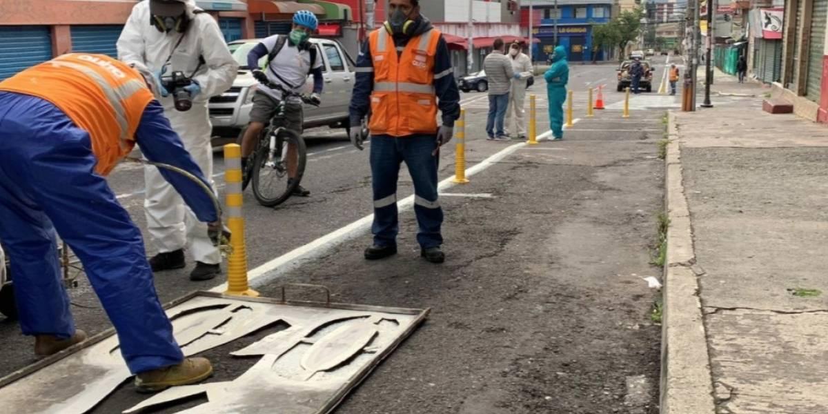 Mascarilla y gafas deberán utilizarse en las ciclovías en Quito