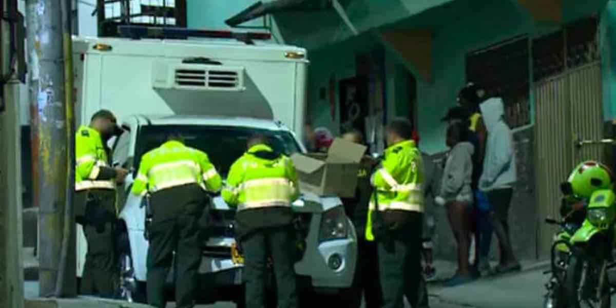 Dos familias se enfrentaron con armas blancas, palos y piedras en Bogotá