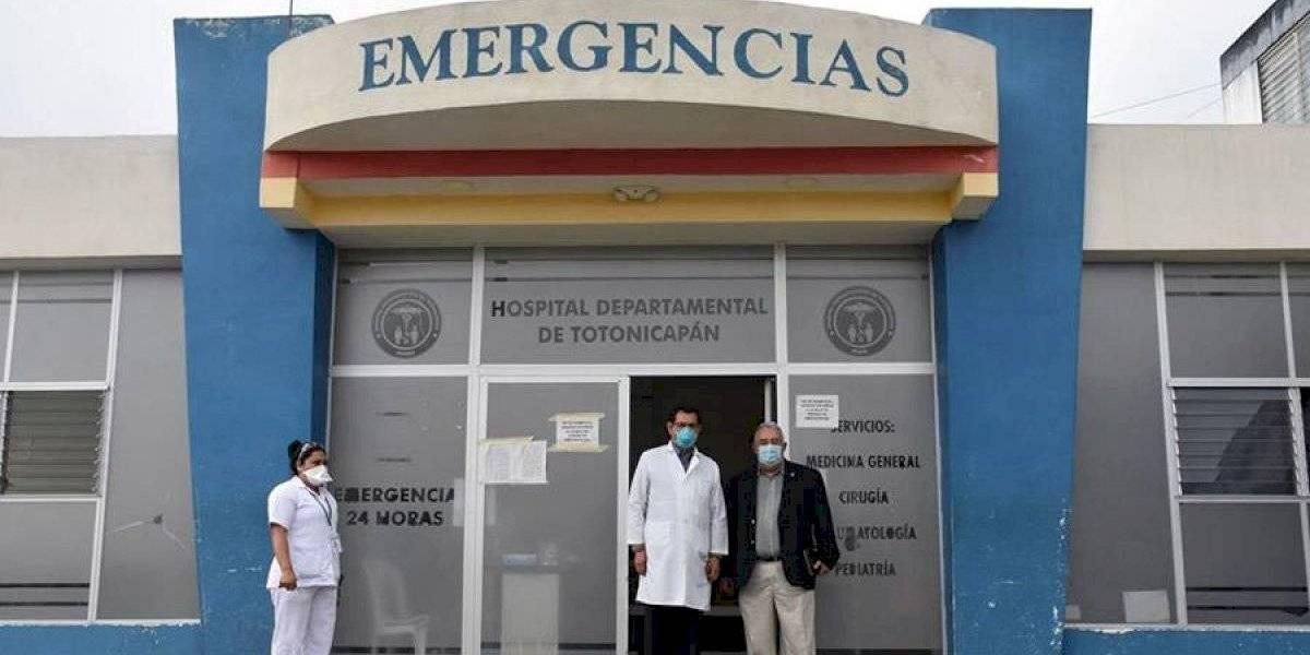 Covid-19: Cierran temporalmente el Hospital de Totonicapán como medida preventiva