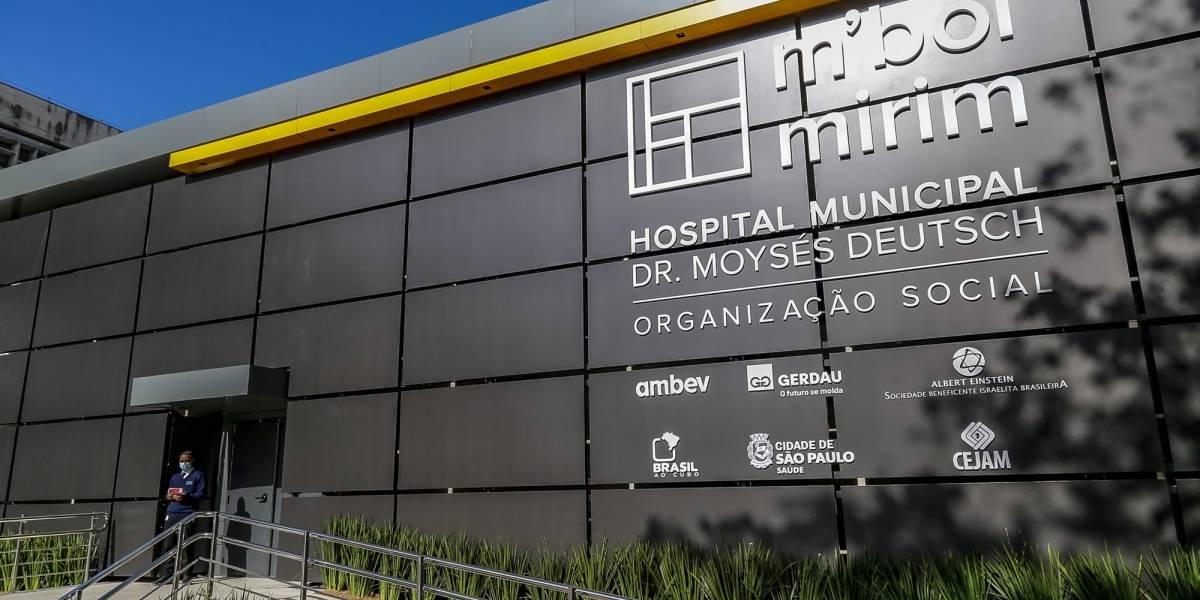 São Paulo inaugura 100 novos leitos para covid-19 em hospital da zona sul