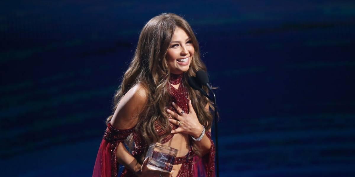 Thalía recria cena de La Casa de Papel e encanta seus seguidores