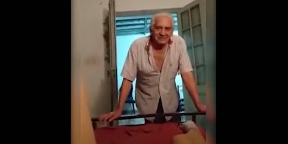 """""""Déjame que te toque"""": abuelo acosa a nieta de 16 años y lo graba para denunciarlo"""