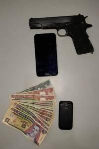 asaltantes capturados en Antigua Guatemala