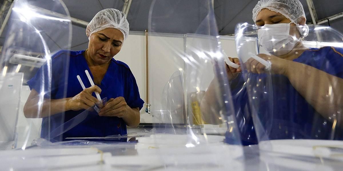 Número de mortos por covid-19 foi de 816 nas últimas 24 horas no Brasil