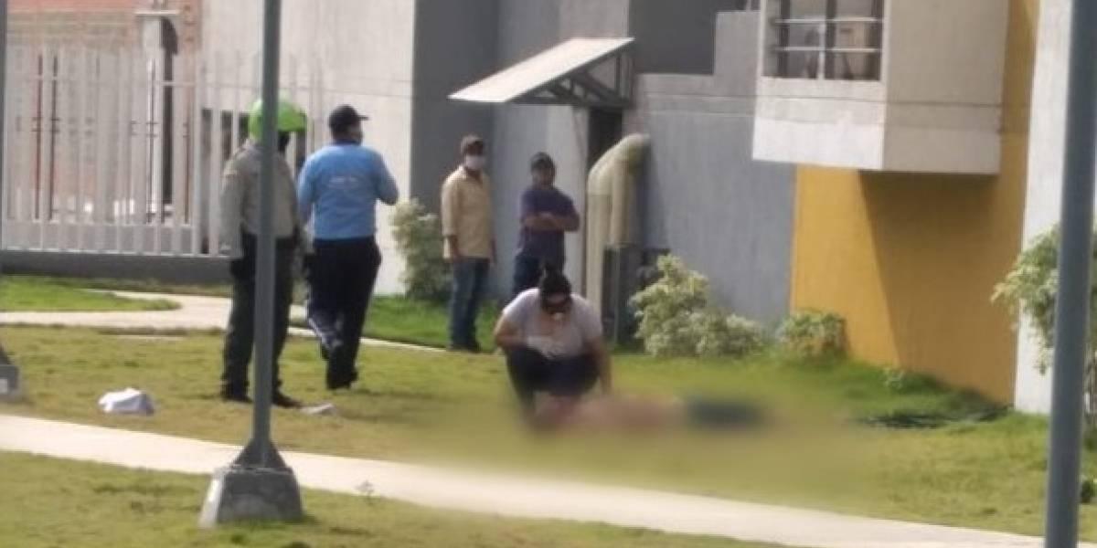 Investigan caso de un bogotano que falleció al caer de un noveno piso