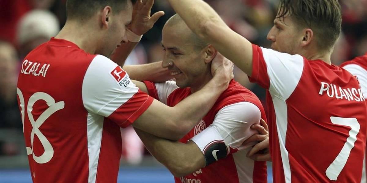 Gol de Elkin Soto, elegido como uno de los mejores tantos latinos en la historia en la Bundesliga