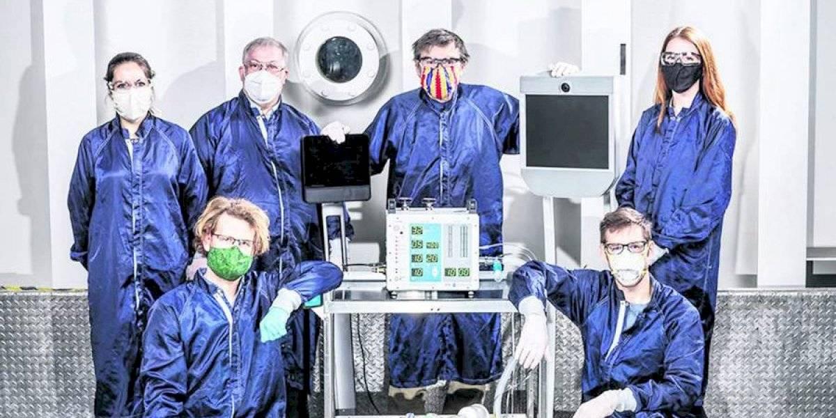 Coronavirus: Ingenieros de la NASA crean nueva clase de ventilador para pacientes en 37 días