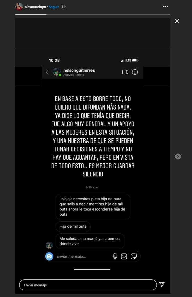 Daniela Cortes ya habría denunciado a Sebastián Villa