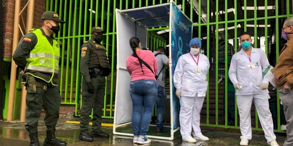 Plaza de mercado logró abrir las puertas después de varios contagios por coronavirus
