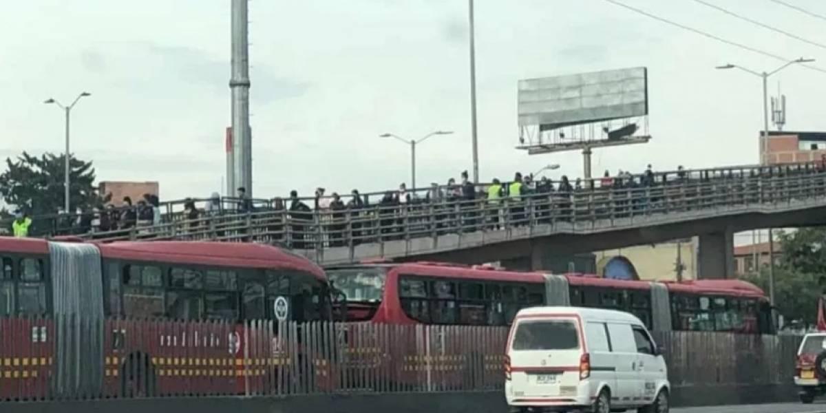La razón por la que se ven (y verán) largas filas en TransMilenio