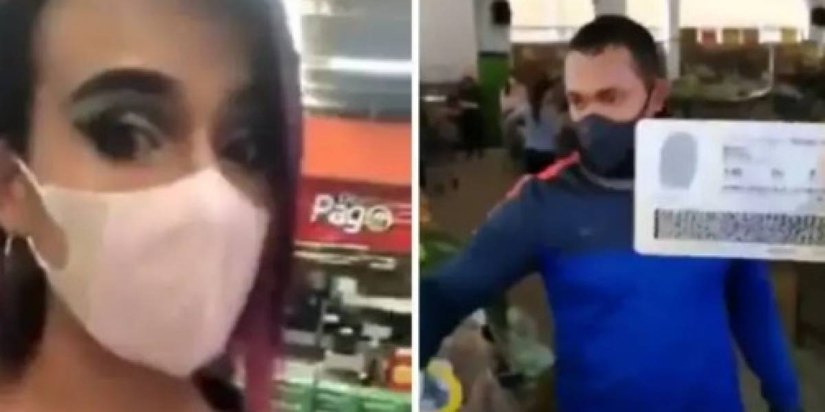 Mujer trans denuncia que la discriminaron en supermercado en Bogotá