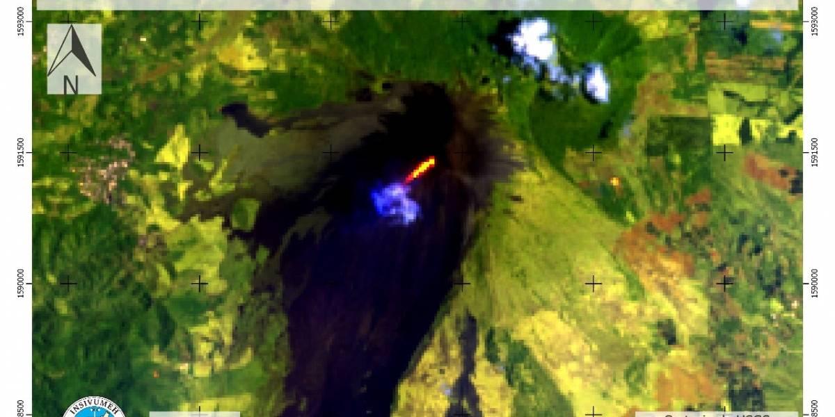 Volcán de Pacaya presenta aumento de actividad