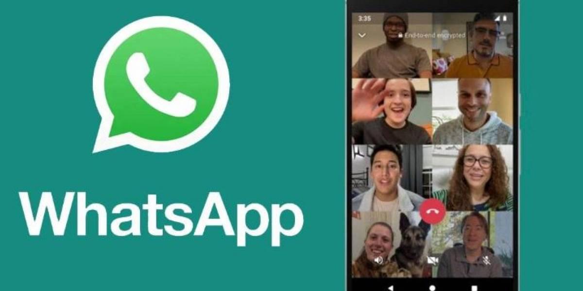 Así puede hacer videollamadas de 8 personas en WhatsApp