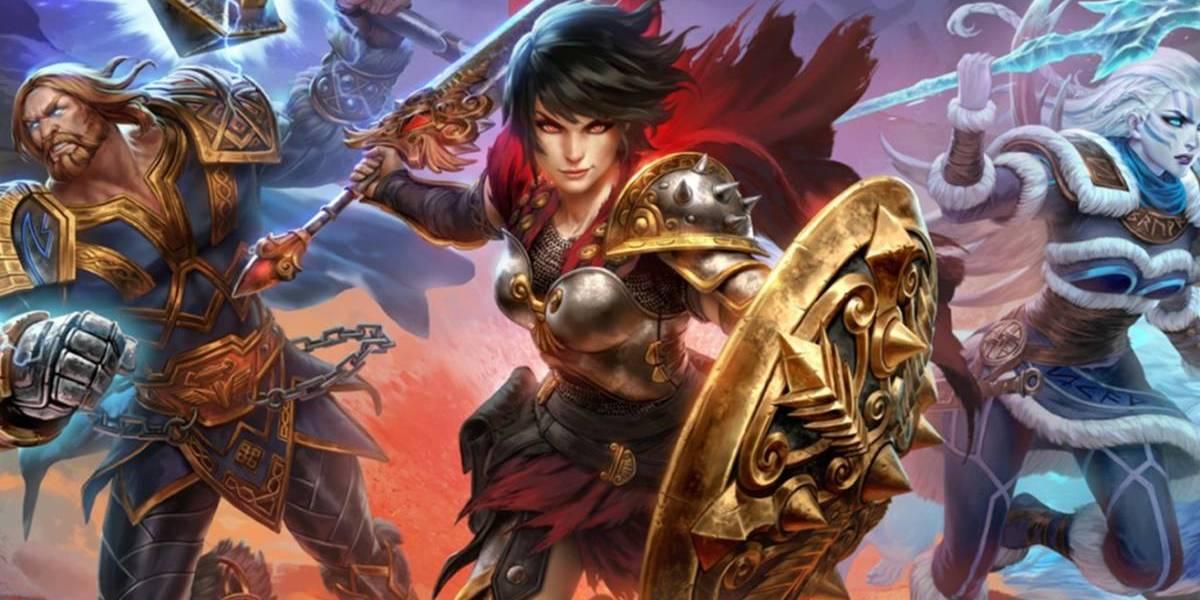 Título Smite está disponível gratuitamente na Epic Games Sotre