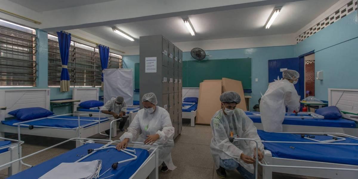 Paraisópolis inaugura alojamento em escolas para pessoas com covid-19