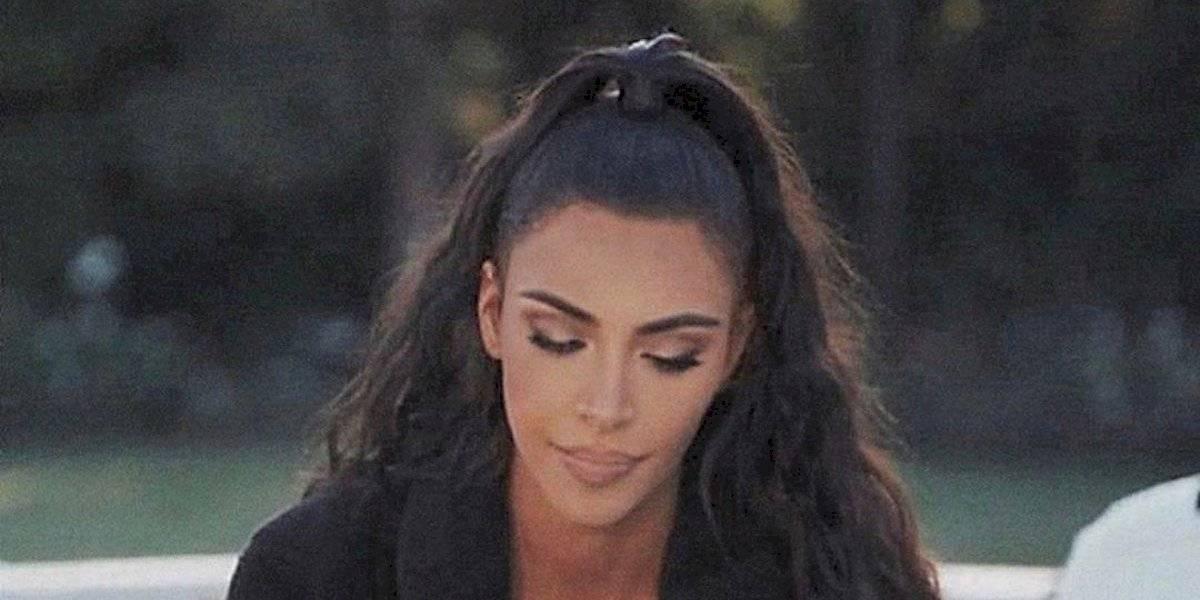 Este é o segredo de Kim Kardashian para ter um cabelo incrível
