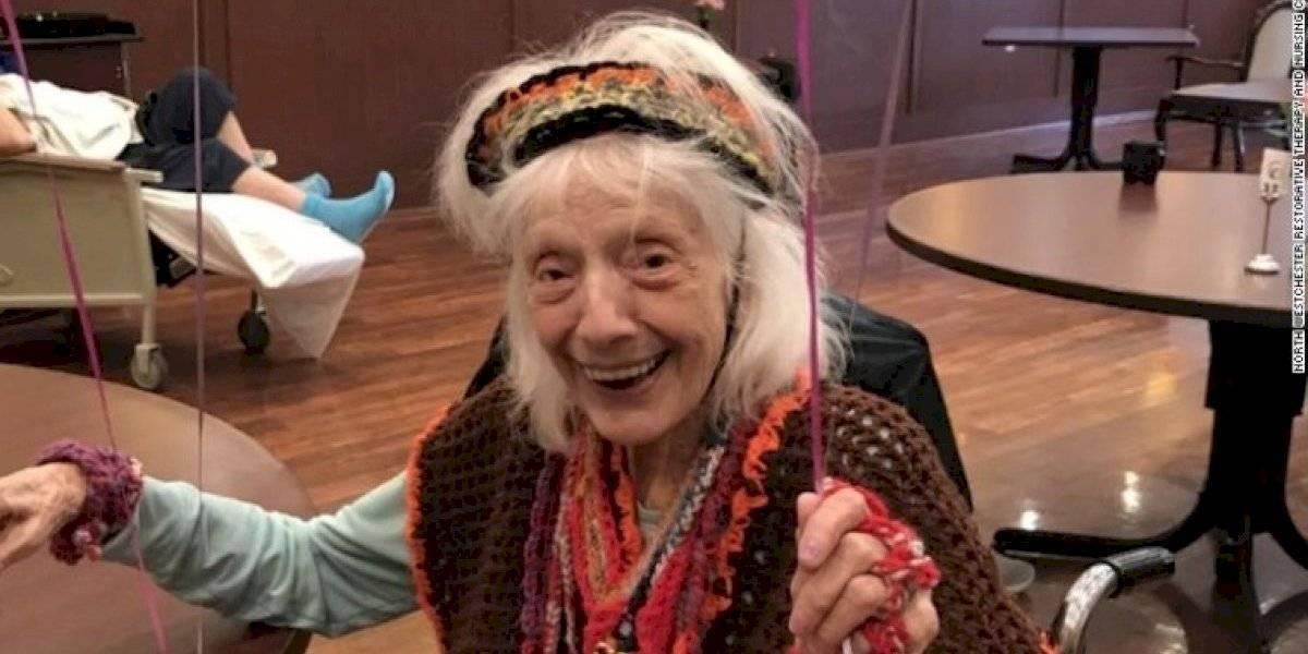 ¡Toda una sobreviviente! Mujer de 101 años venció al coronavirus, al cáncer y a la gripe española