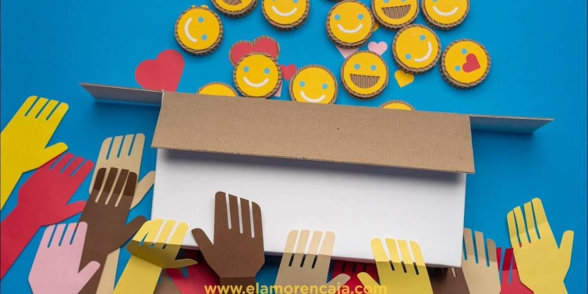 """Únete y apoya """"el amor en caja"""", proyecto que busca beneficiar a los más necesitados por el COVID-19"""