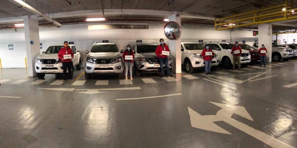 Nissan apoya la gestión de crisis de Peñalolén