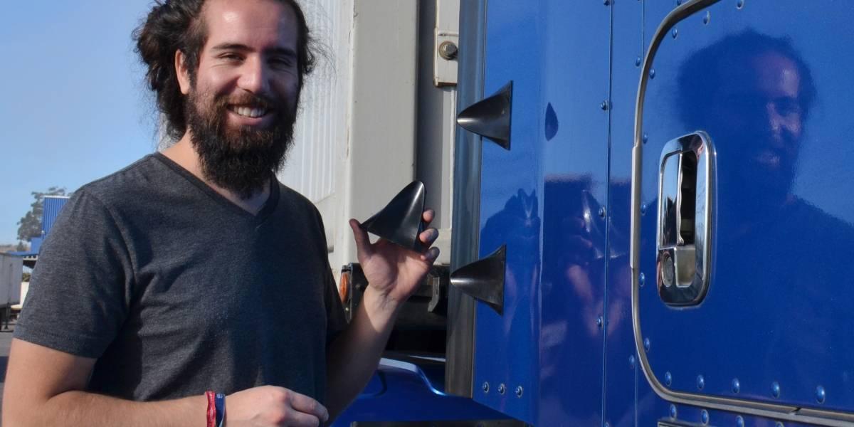 Desde Concepción llega una solución para optimizar la aerodinámica del transporte pesado