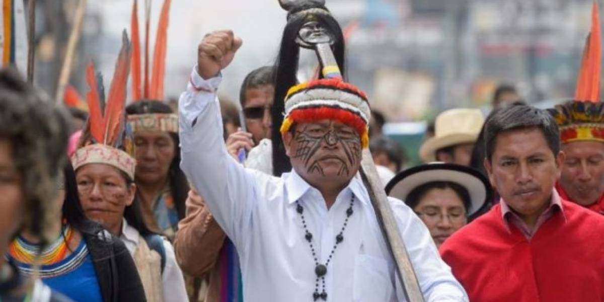 Conaie alista movilizaciones a Quito para rechazar las medidas económicas
