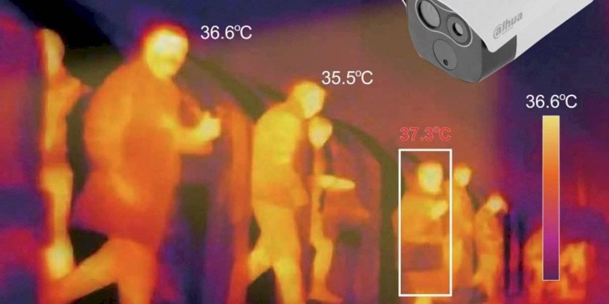 En Puerto Rico novedoso medidor de temperatura corporal y reconocimiento facial