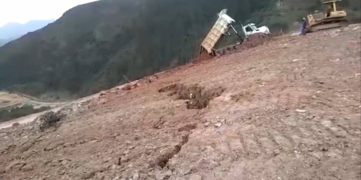 El video que presagió la emergencia en el relleno Doña Juana