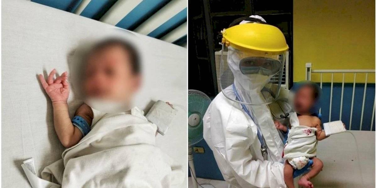 Bebé de 16 días supera el Covid-19, el paciente de menor edad del mundo