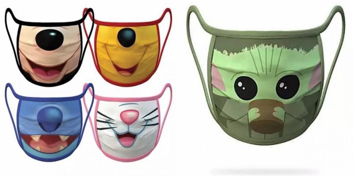 Covid-19: Disney lança máscaras da Marvel, baby Yoda, Stitch e mais
