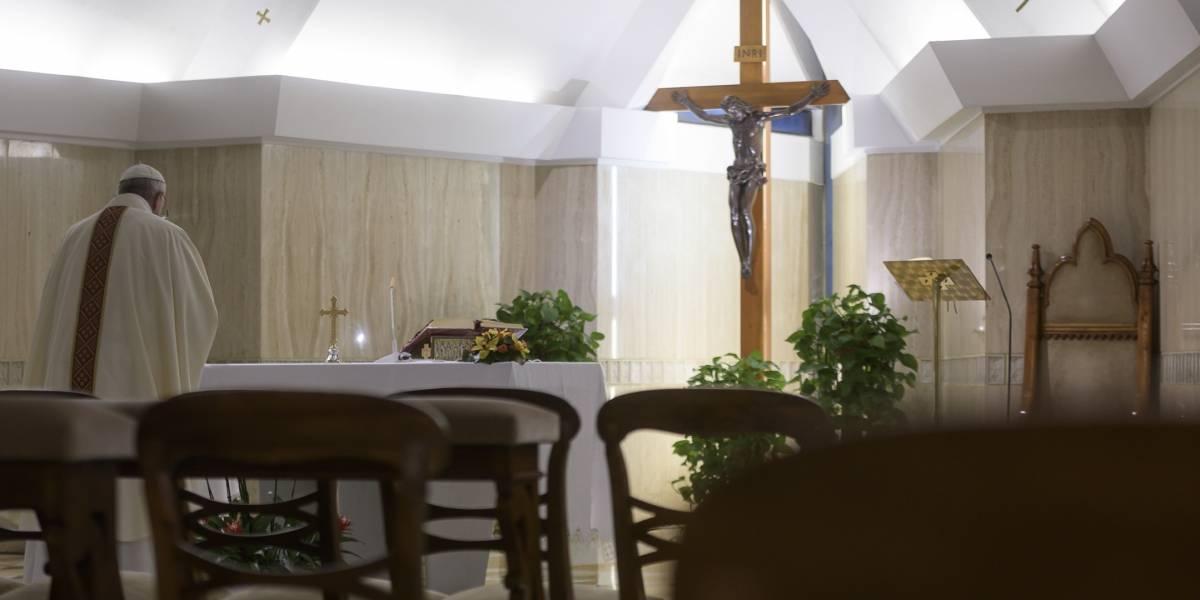 """Papa Francisco.- El Papa dice que el cristianismo no es sólo """"una doctrina"""" o """"un modo de comportarse"""""""