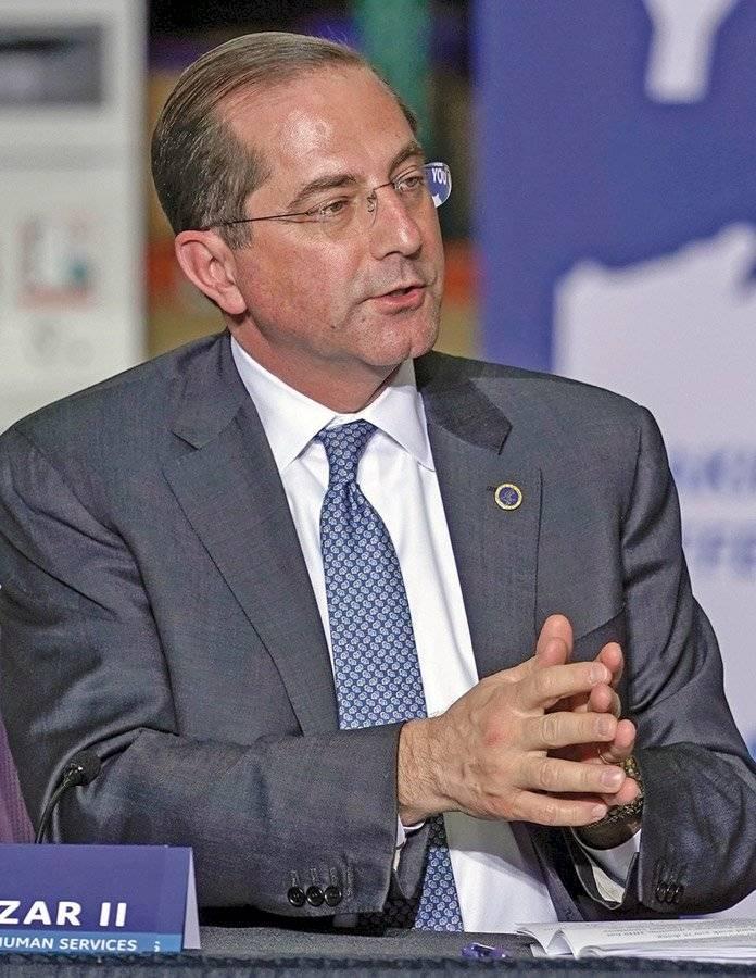 Alex Azar, secretario de Salud y Servicios Humanos de EE. UU.