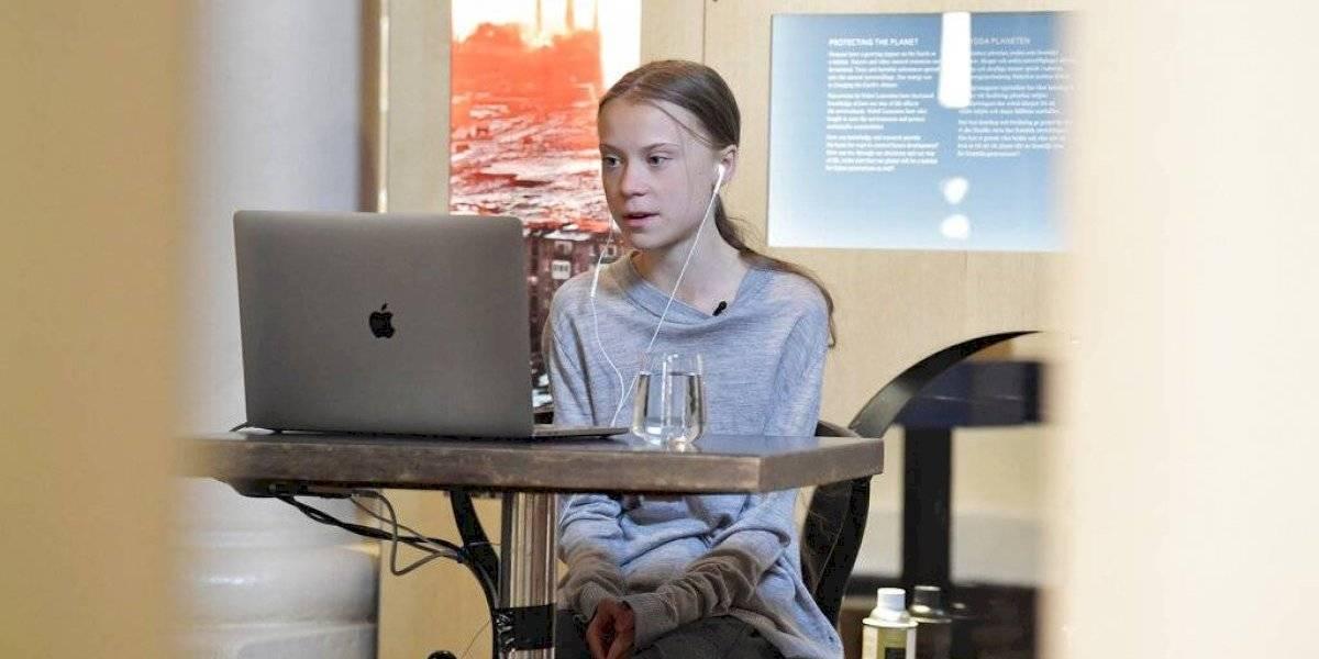 Greta Thunberg dona 2.3 mdp a UNICEF para lucha contra COVID-19