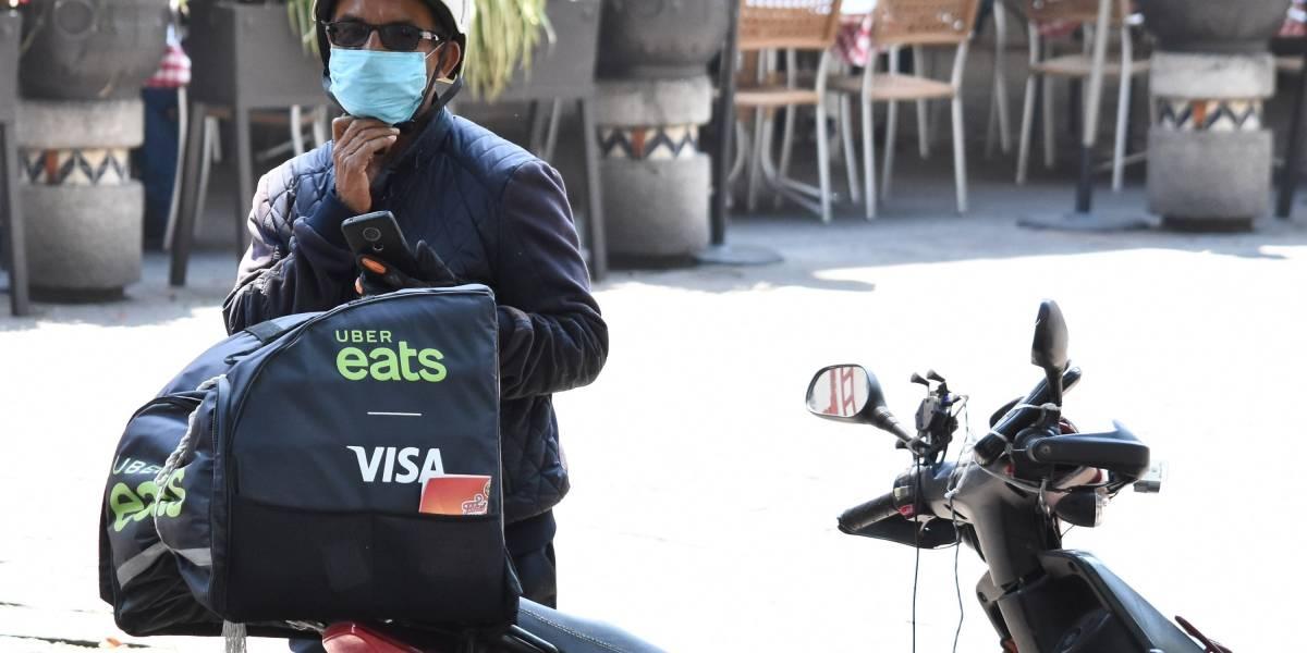 Bajan 60% pedidos por apps de comida a domicilio