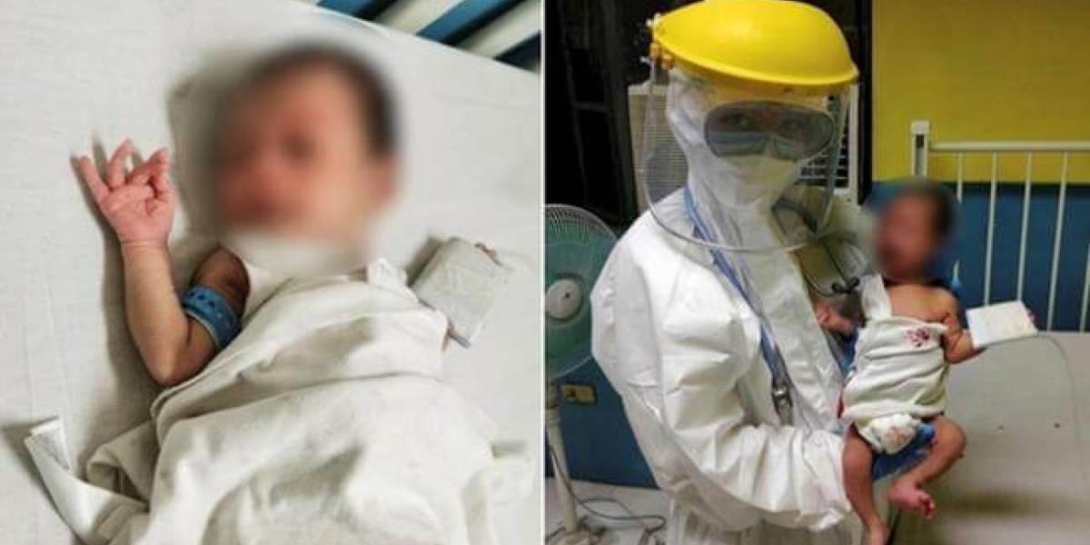 Bebé de cinco meses sobrevivió una batalla de 54 días contra el coronavirus