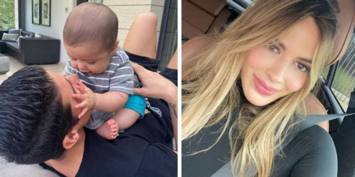 Shannon de Lima celebró los seis meses de Samuel, el hijo de James