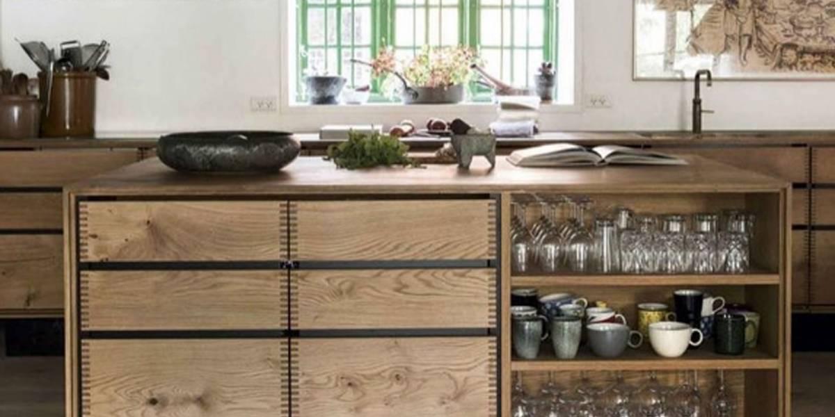 Cocinas con islas de madera: Una tendencia para optimizar los espacios