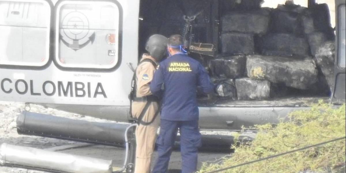 Incautan cientos de kilos de drogas en reserva de Parque Natural colombiano