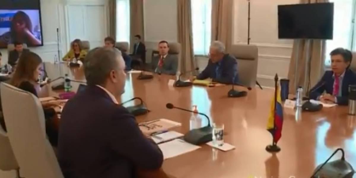 Tensionante encuentro entre López y Duque por investigación de la Fiscalía