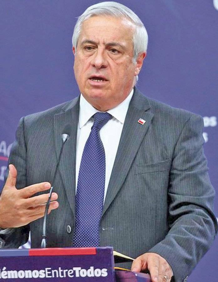 Jaime José Mañalich, Ministro de Salud de Chile
