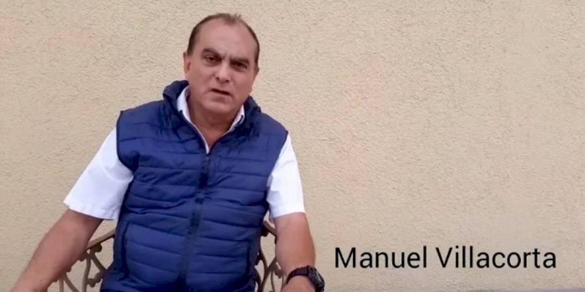 """VIDEO. Manuel Villacorta a Giammattei: """"Hoy usted demostró de qué lado está"""""""