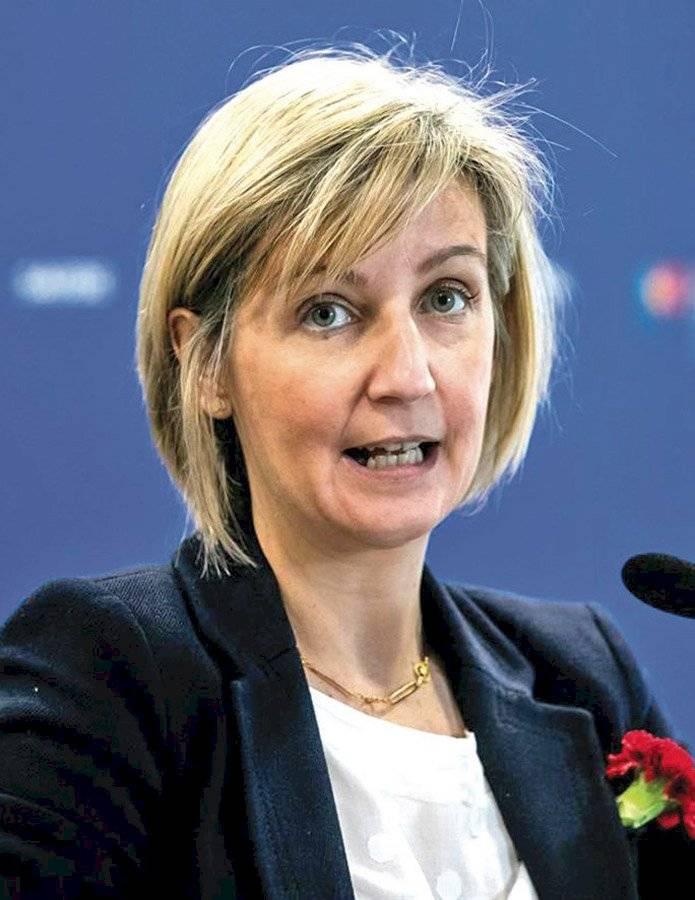 Marta Temido, ministra de Sanidad de Portugal