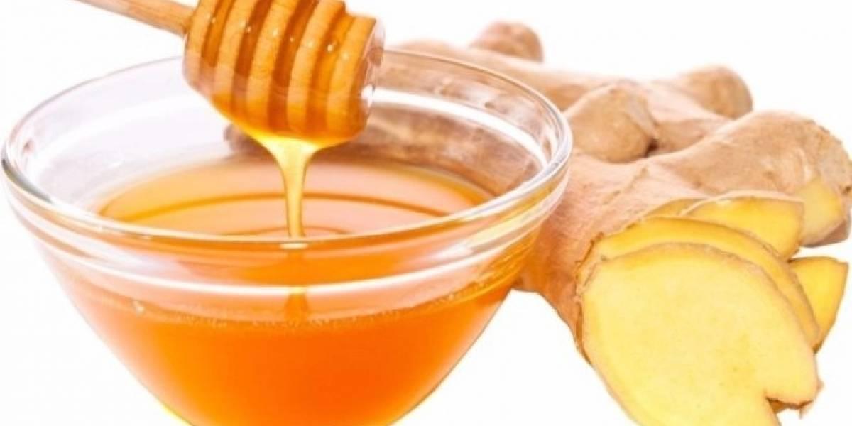 Chá de mel e gengibre para aumentar suas defesas